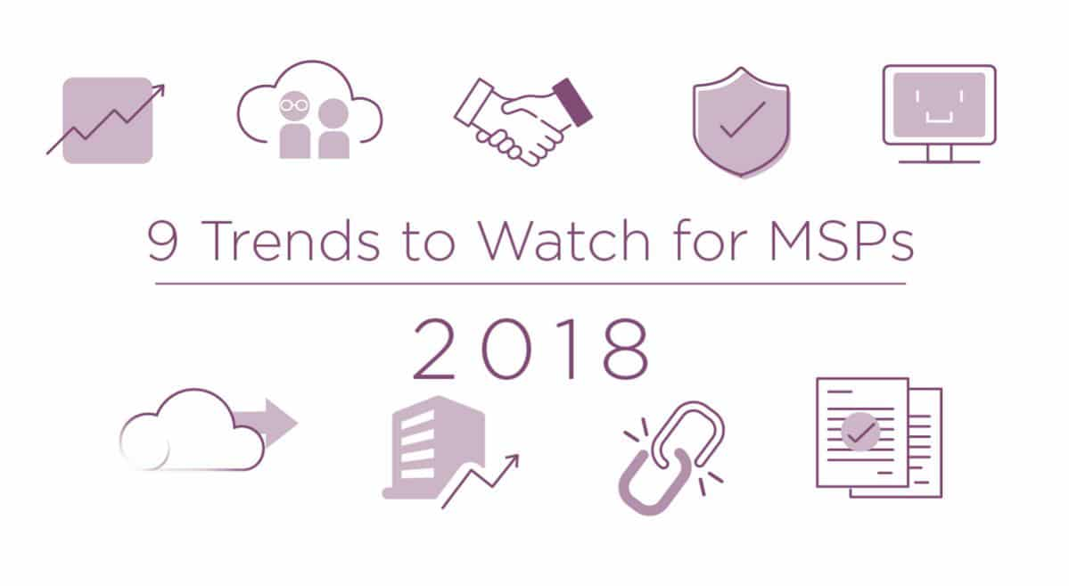 9 Trends of MSPs in 2018